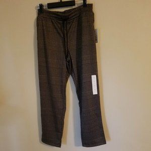 A New Day High-Rise Plaid Ankle Length Pants S